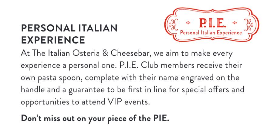 The Italian P.I.E. Club