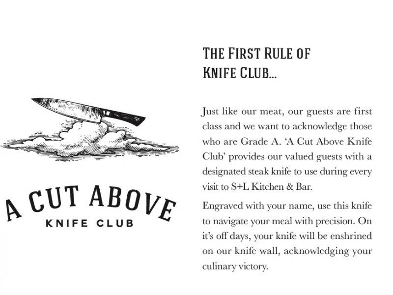 S+L A Cut Above Knife Club