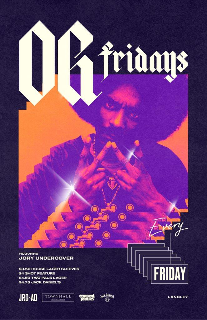O.G. Fridays at Townhall Langley