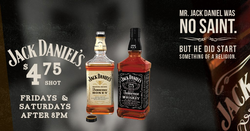 Jack Daniels Friday Special