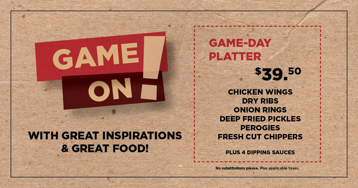 Game-Day Platter