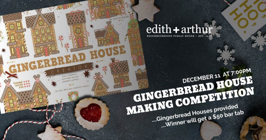 Gingerbread House Making Competition