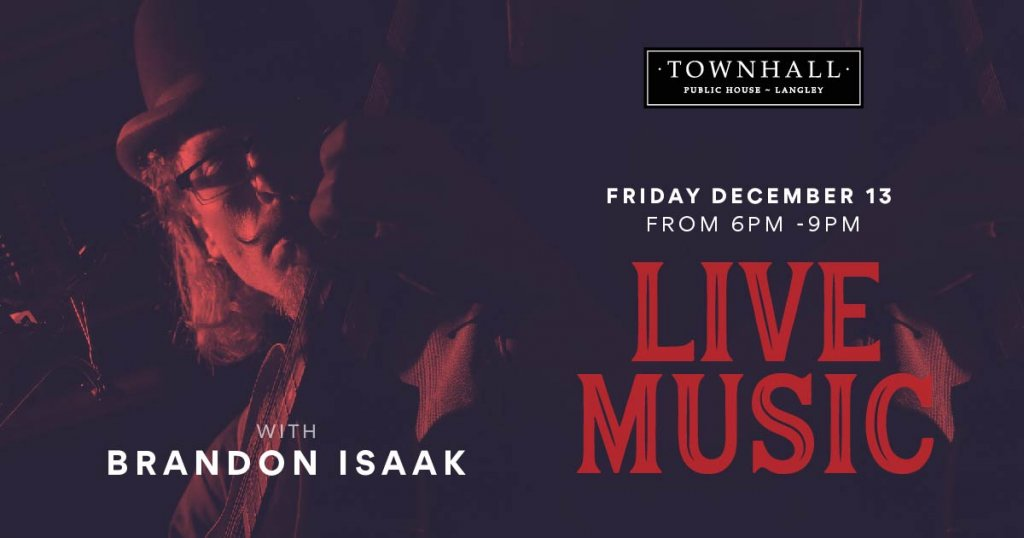 Live Music with Brandon Isaak