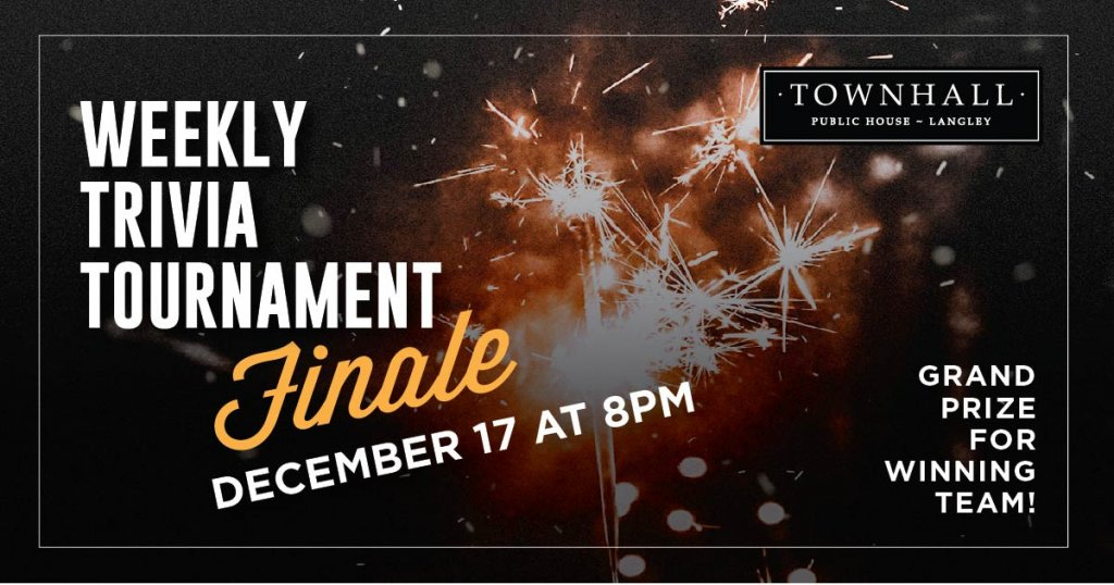Weekly Trivia Tournament Finale