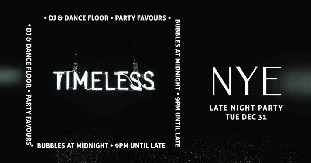 Timeless NYE Edith Micky's
