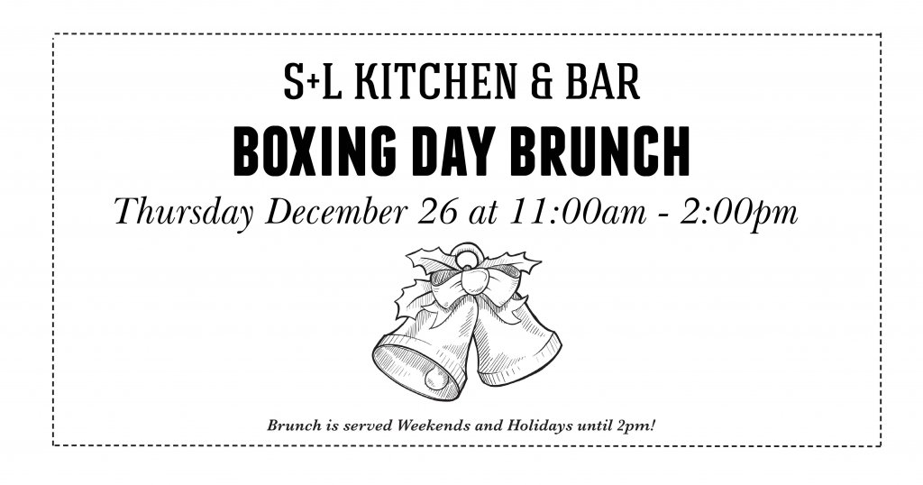 Boxing Day Brunch