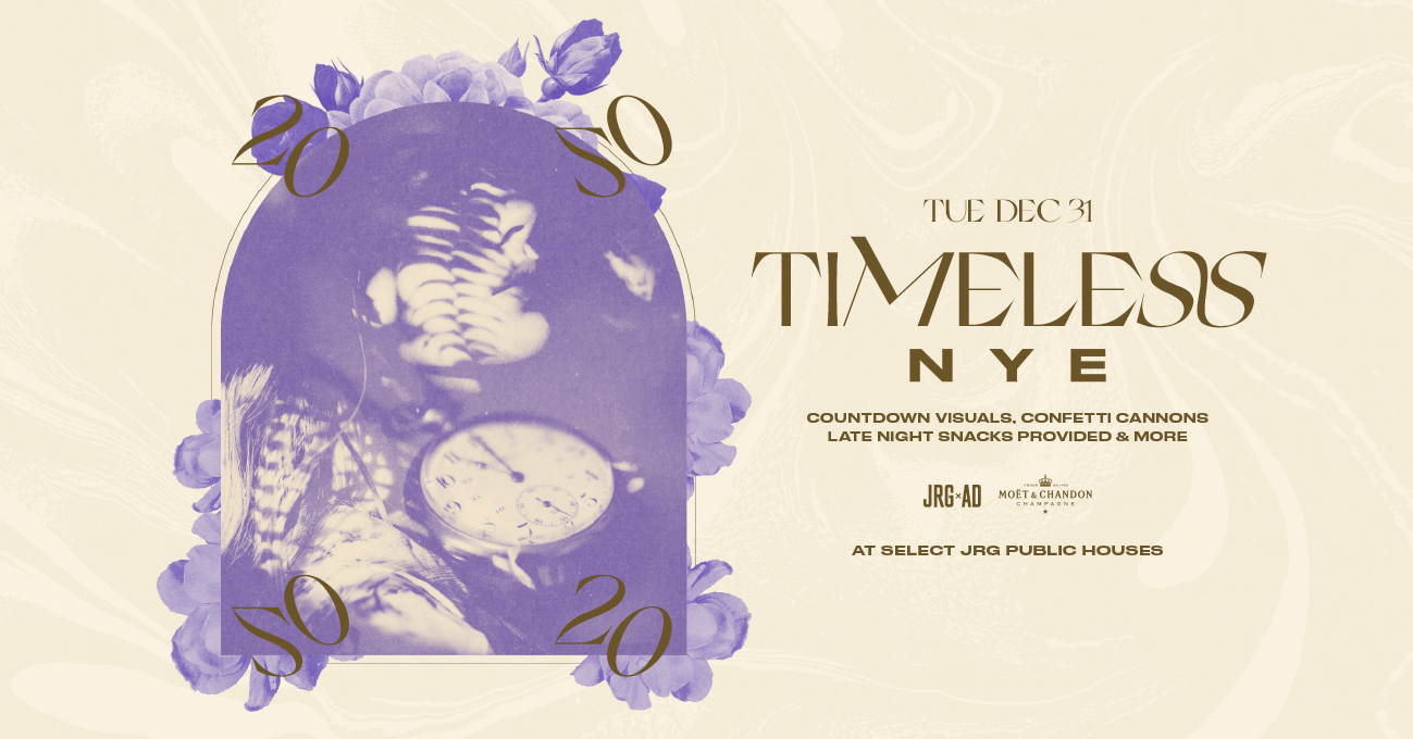 JRG After Dark: Timeless NYE