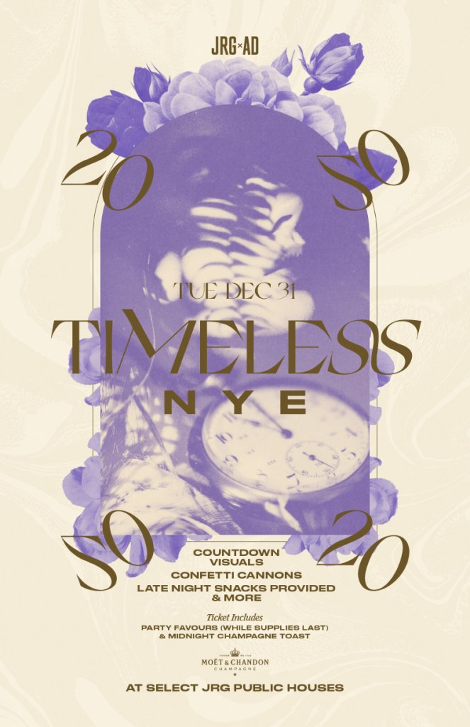 Timeless NYE at The Buck & Ear