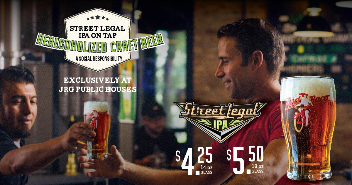 Street Legal IPA ON TAP