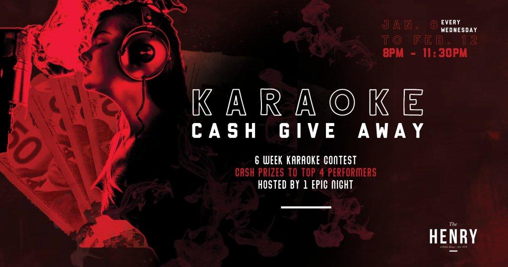 Karaoke Cash Give Away