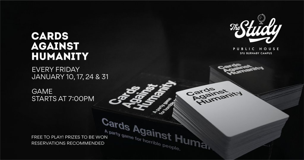 Cards Against Humanity The Study