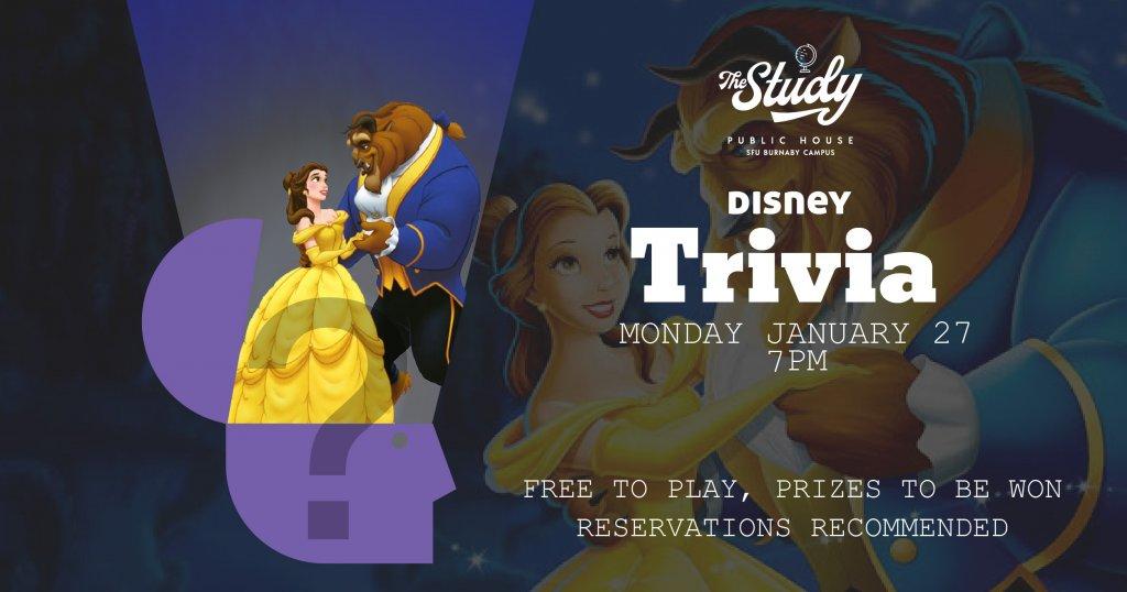 Disney Trivia The Study