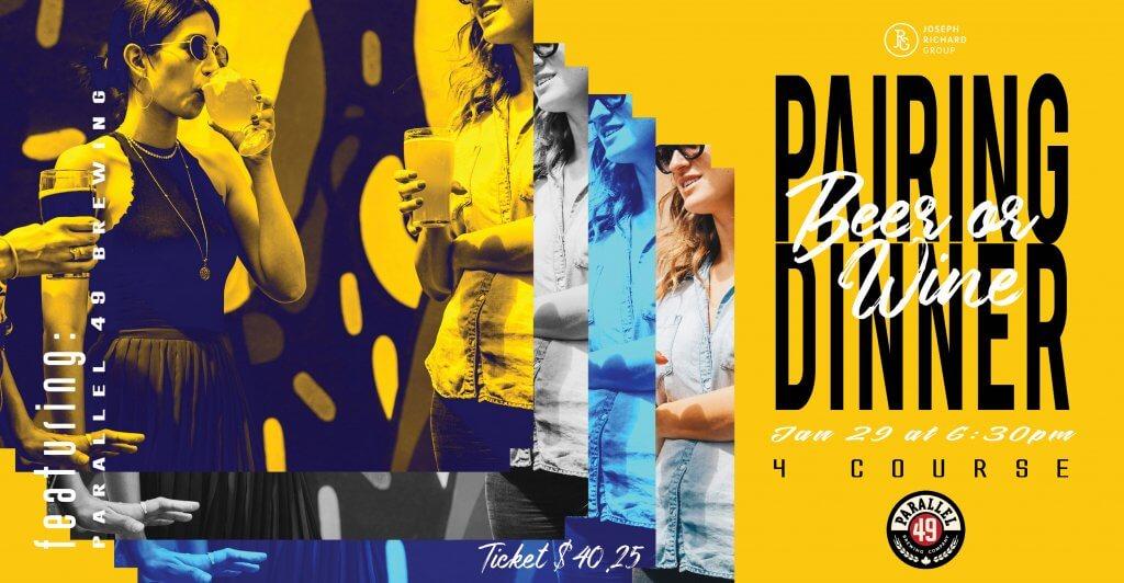 Parallel 49 Pairing Dinner