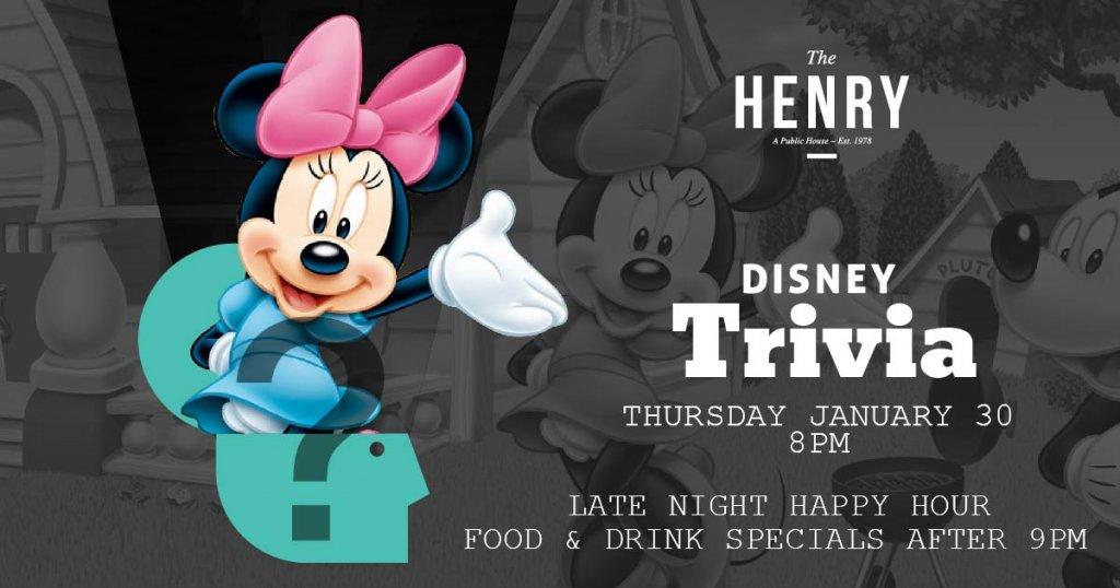 Disney Trivia The Henry