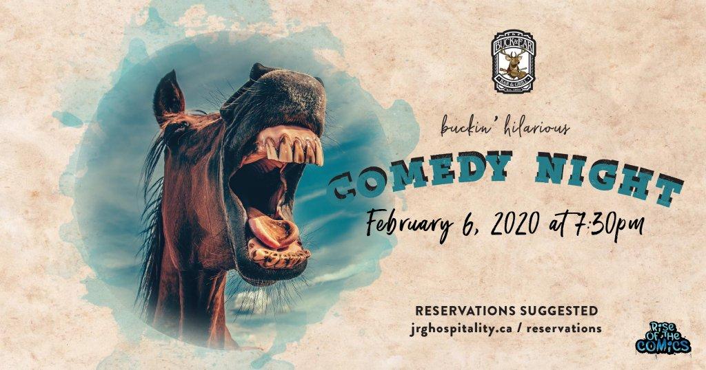 Comedy Night Buck