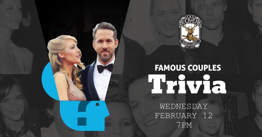 Famous Couples Trivia