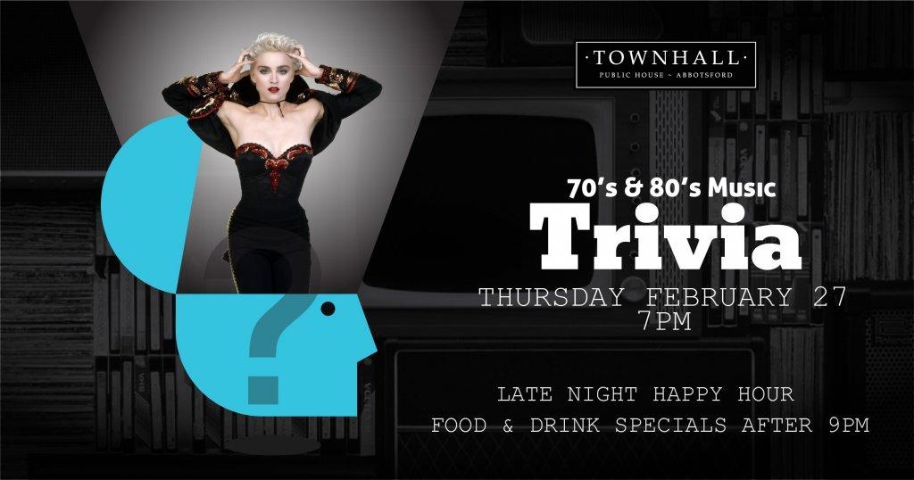 70's & 80's Music Trivia