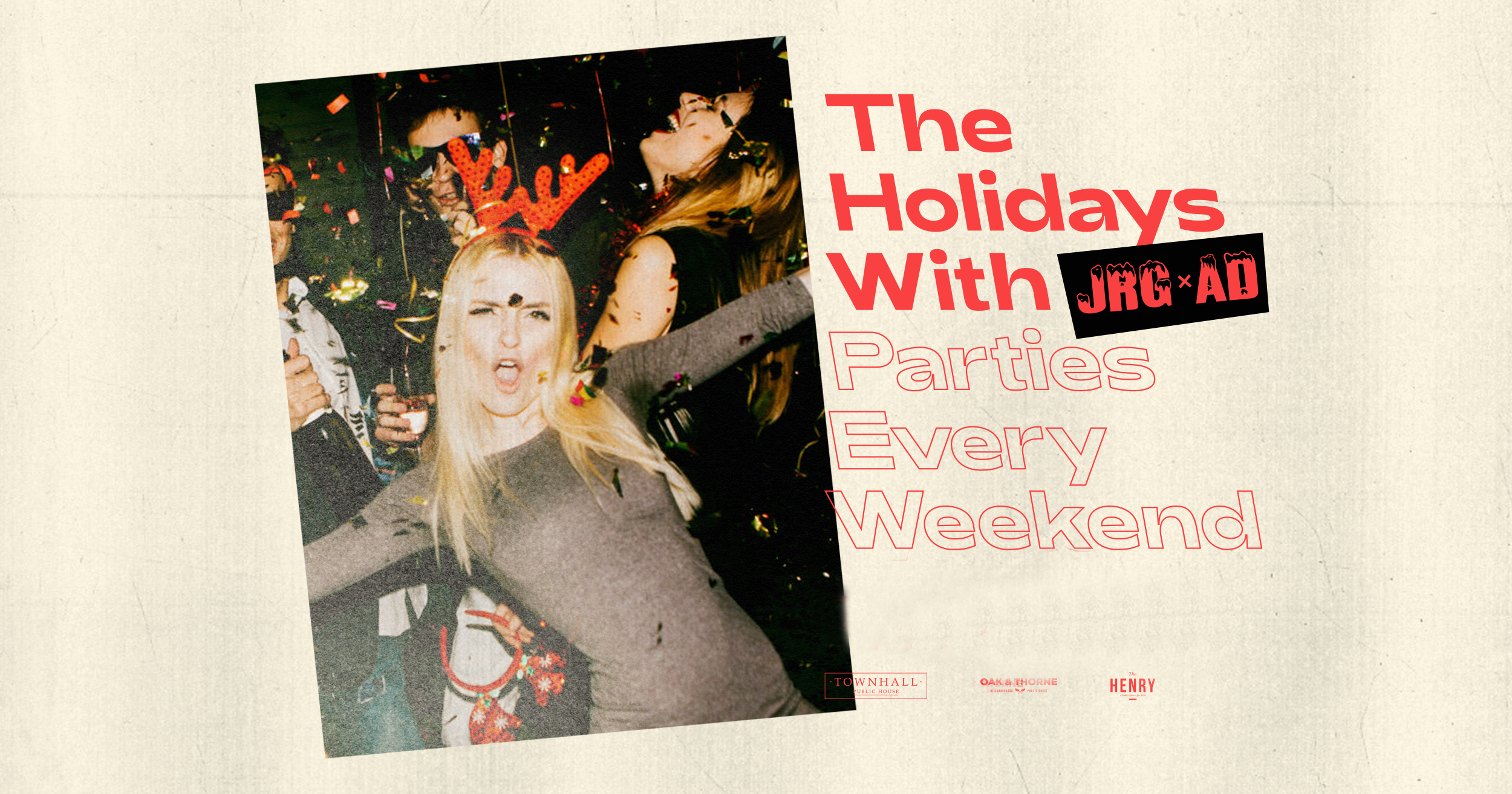 The Holidays with JRG After Dark