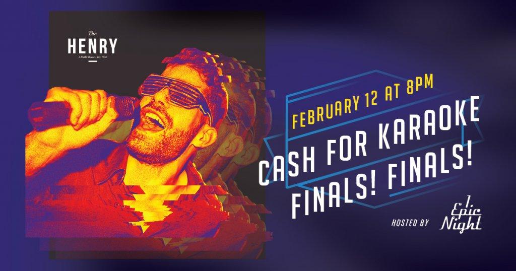 Cash for Karaoke Finals