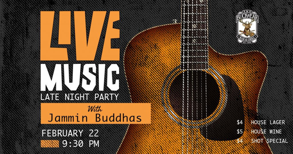 Live Music with Jammin Buddhas
