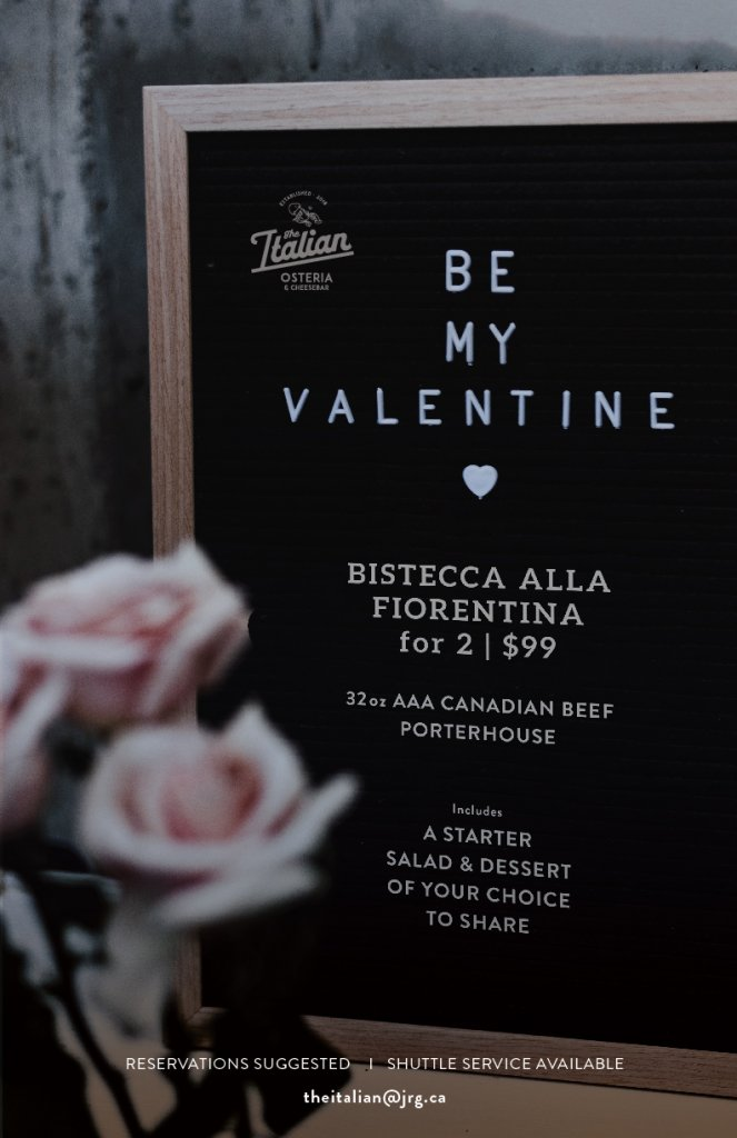 The Italian Valentine's Day Edition