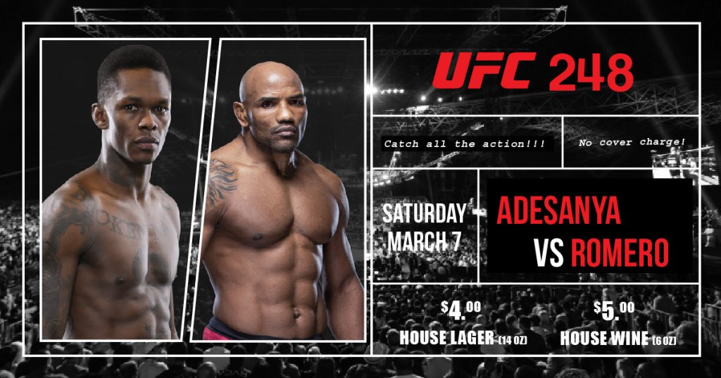 UFC 248 at Townhall Langley