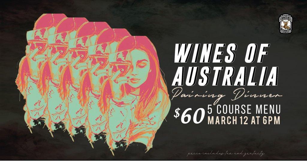 Wines of Australia Pairing Dinner