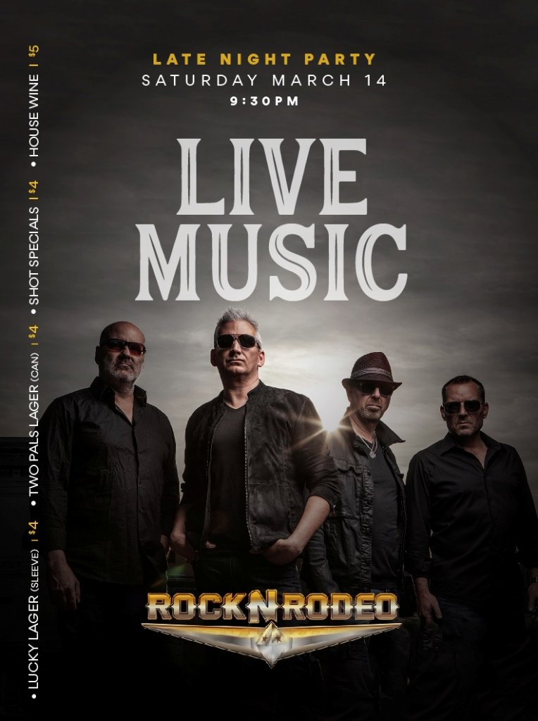 Live Music with Rock & Rodeo