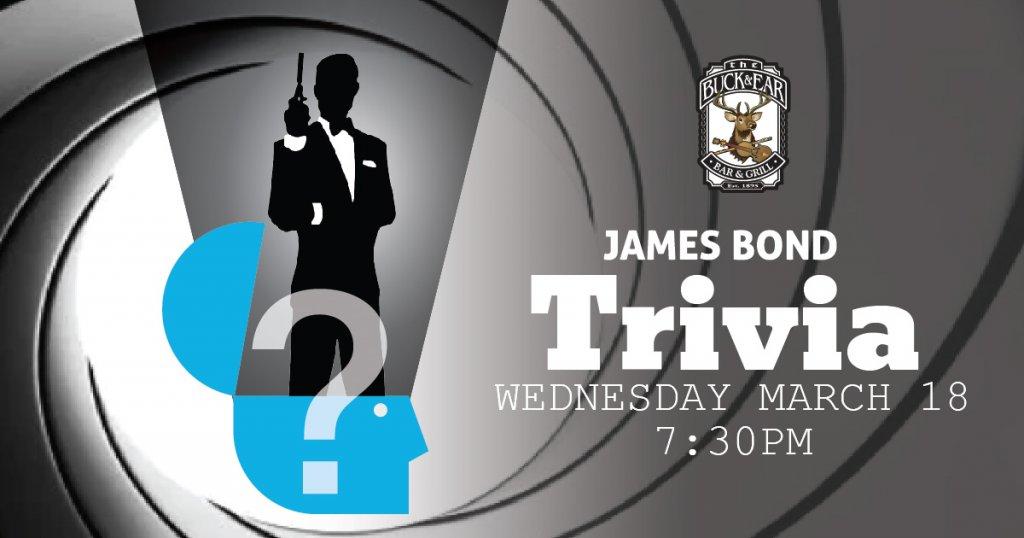 James Bond Trivia The Buck