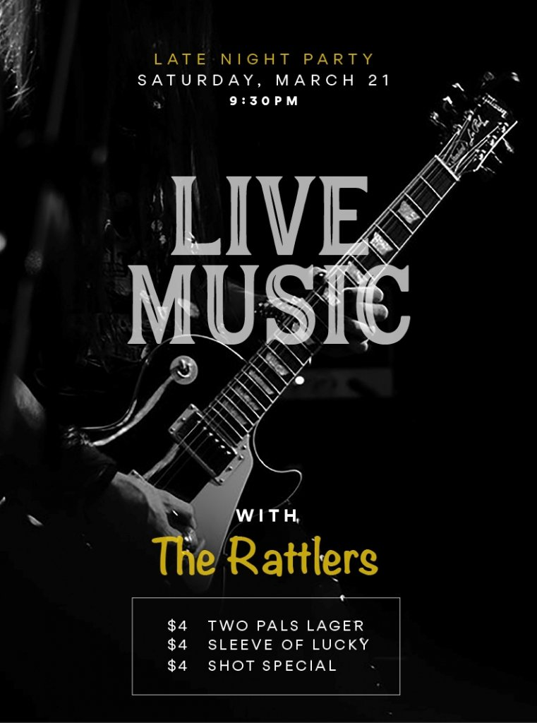 Live Music with The Rattlers