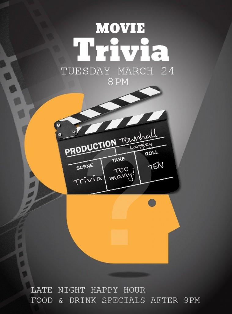 Movie Trivia Townhall Langley
