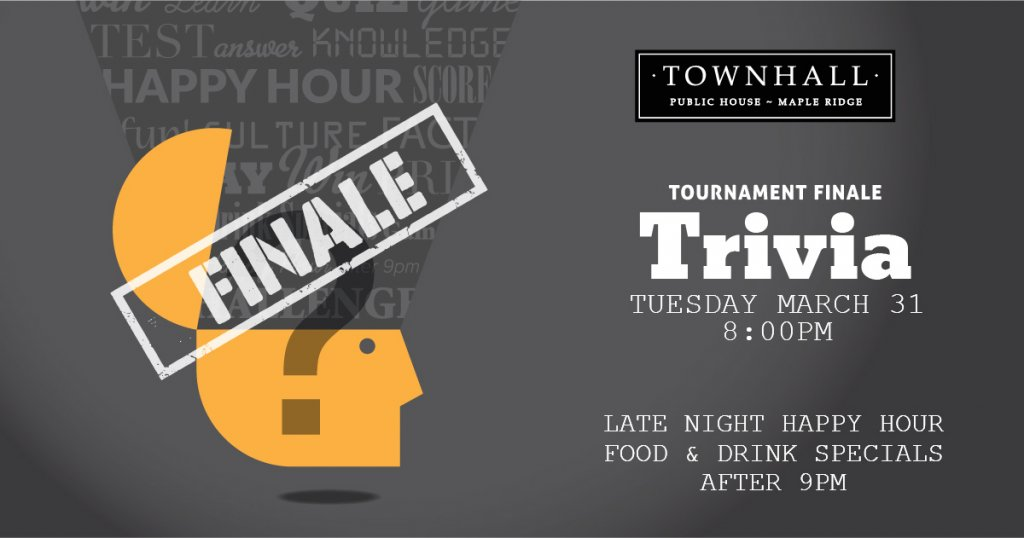 Trivia Tournament Finale Langley