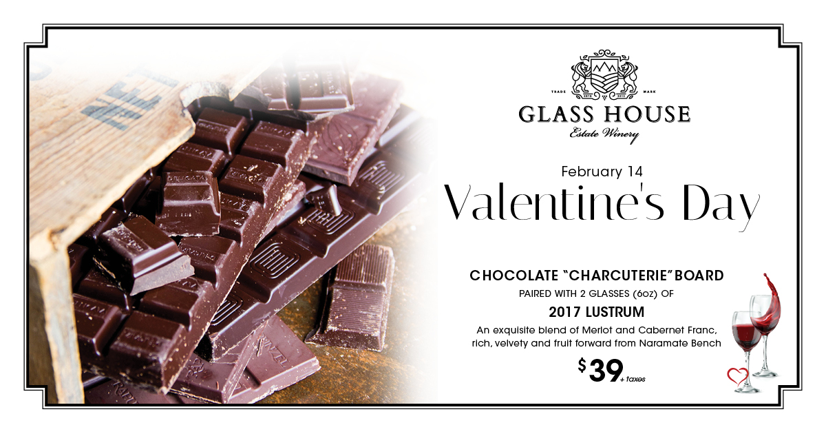 Valentine's Day at Glass House Estate Winery