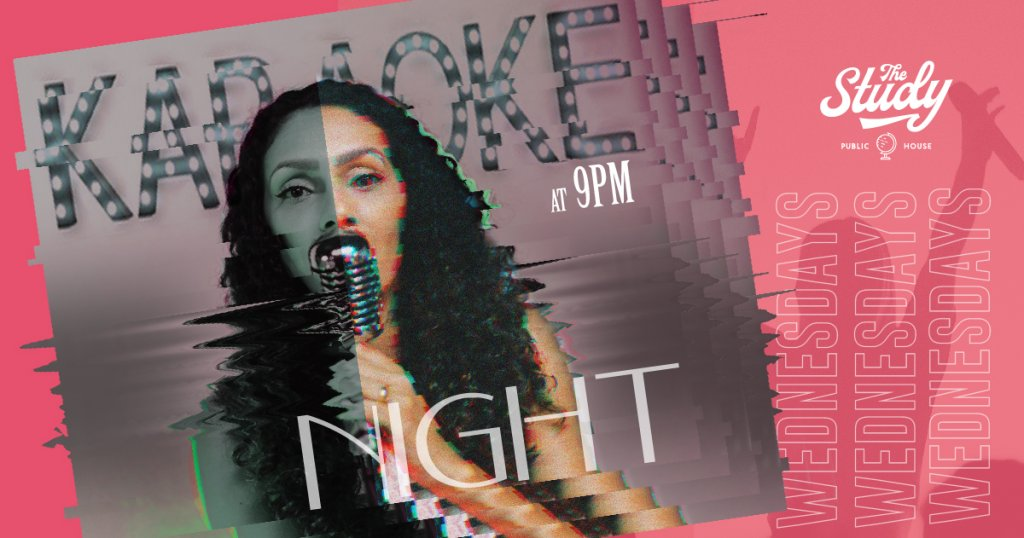 Karaoke Night Wednesdays at The Study