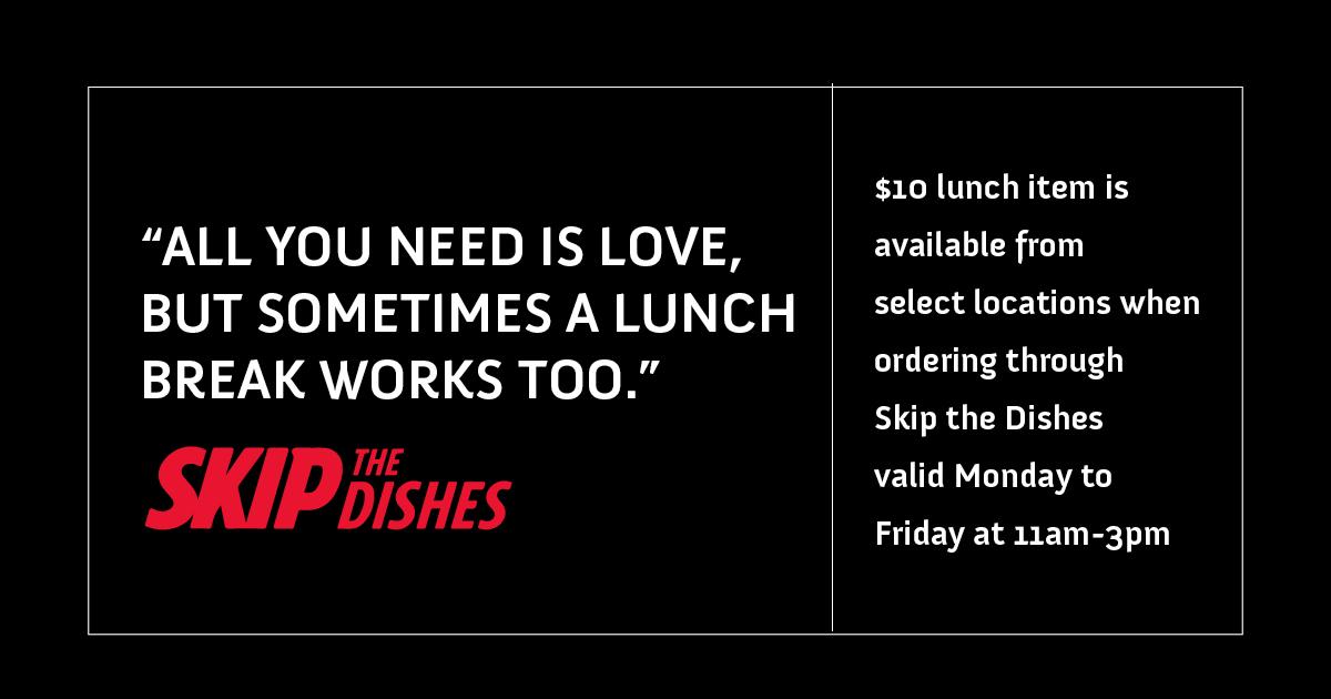 $10 Lunch Item