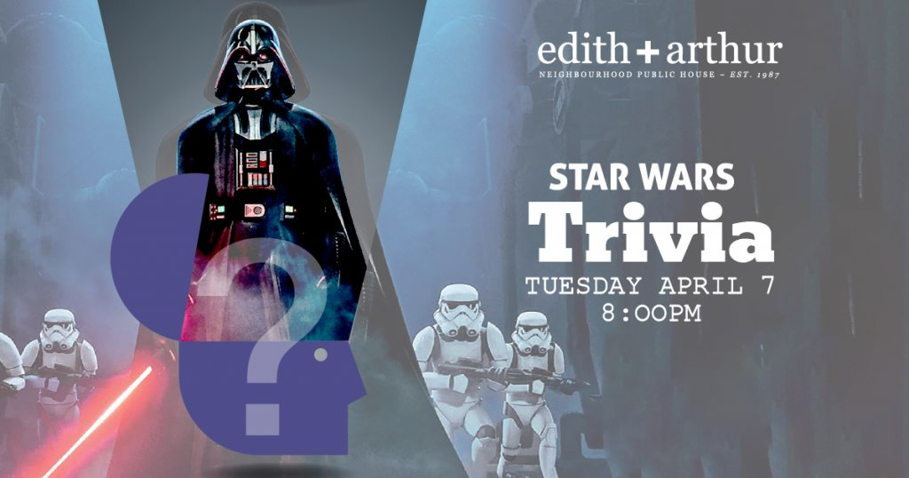 Star Wars Trivia at Edith + Arthur