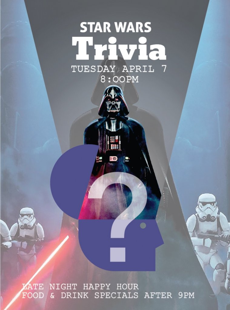 Star Wars Trivia at Edith + Arthur