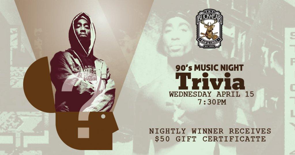 90's Music Trivia The Buck