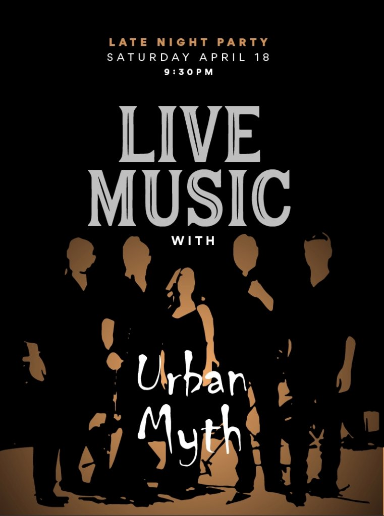 Live Music with Urban Myth