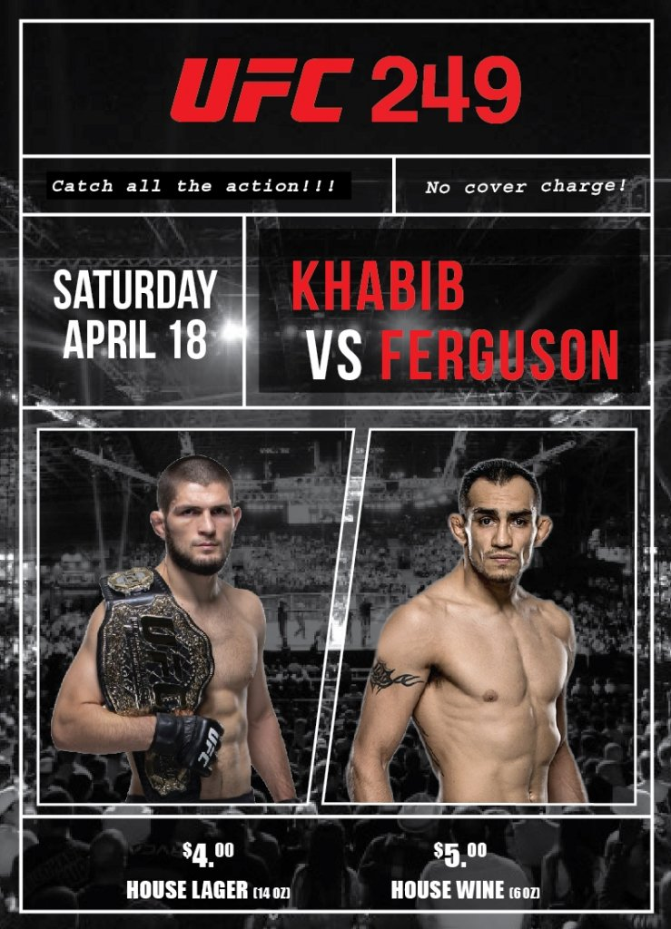 UFC 249 Langley