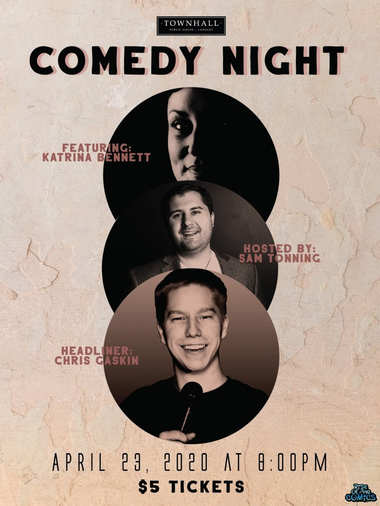 Live Comedy Night Townhall Langley