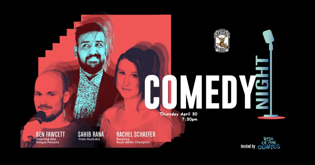 Comedy Night at The Buck & Ear