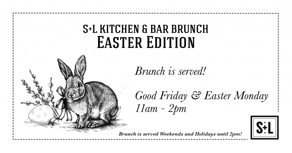 Good Friday & Easter Monday Brunch s+l