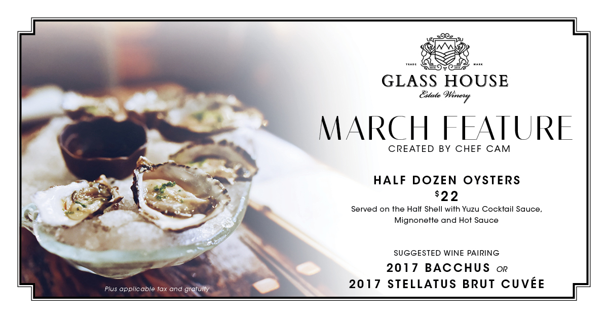 March Feature at Glass House Estate Winery
