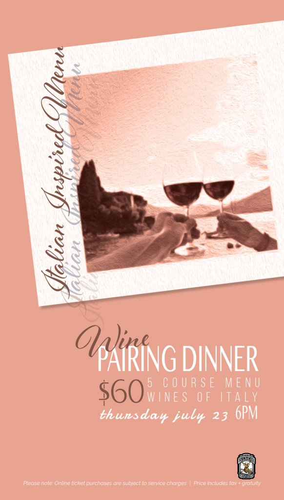 The Buck & Ear Wines of Italy Pairing Dinner