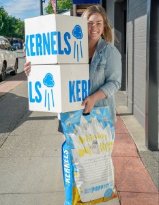 Kernels Popcorn in partnership with Meal Ticket Brands