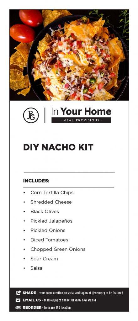 DIY Nacho Meal Kit