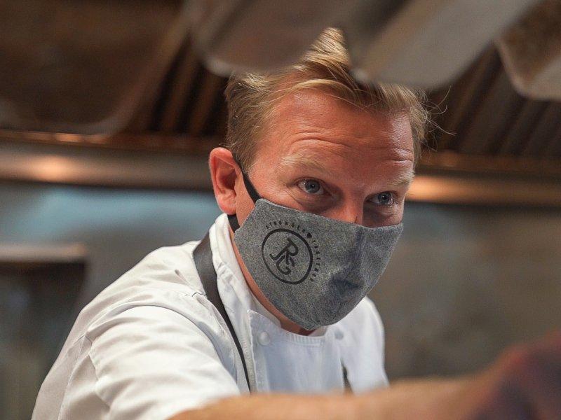 JRG Culinary Director Chef Colin Burslem