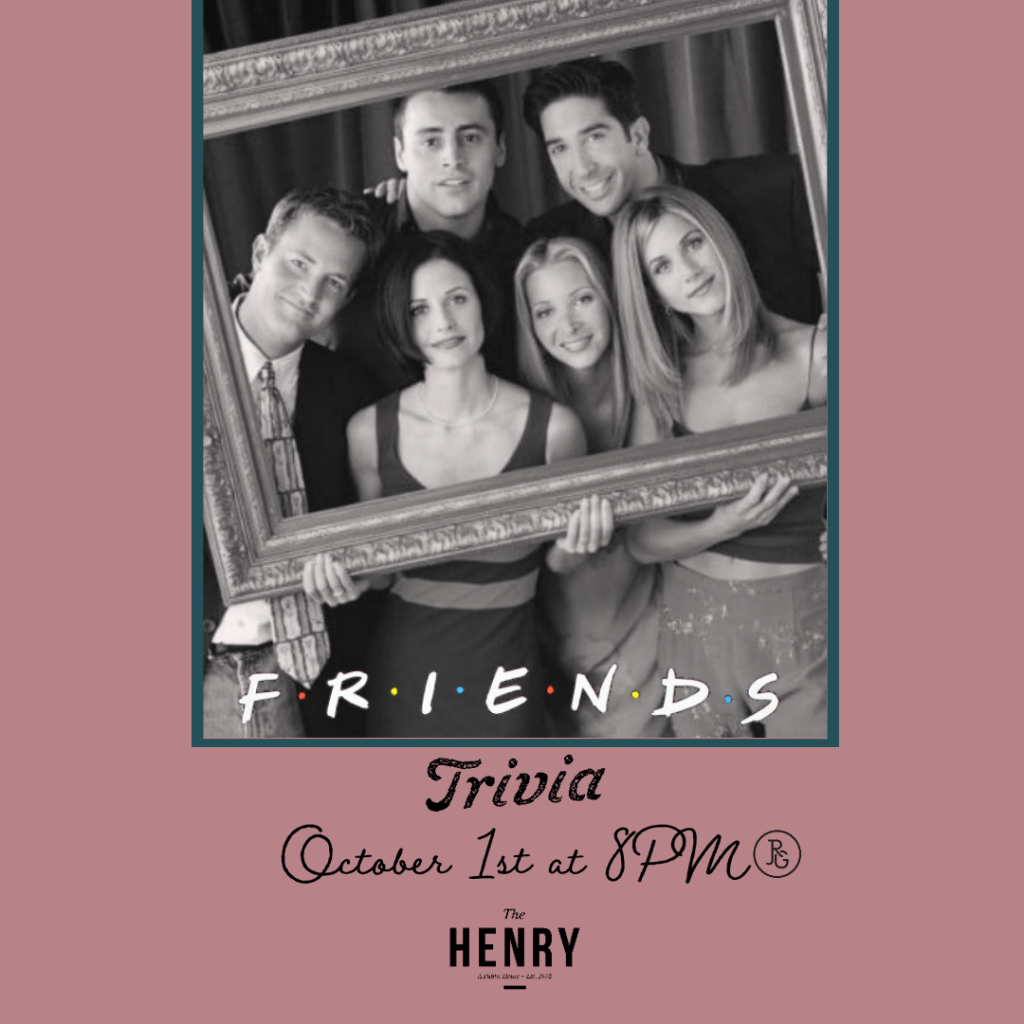 Friends Trivia at The Henry