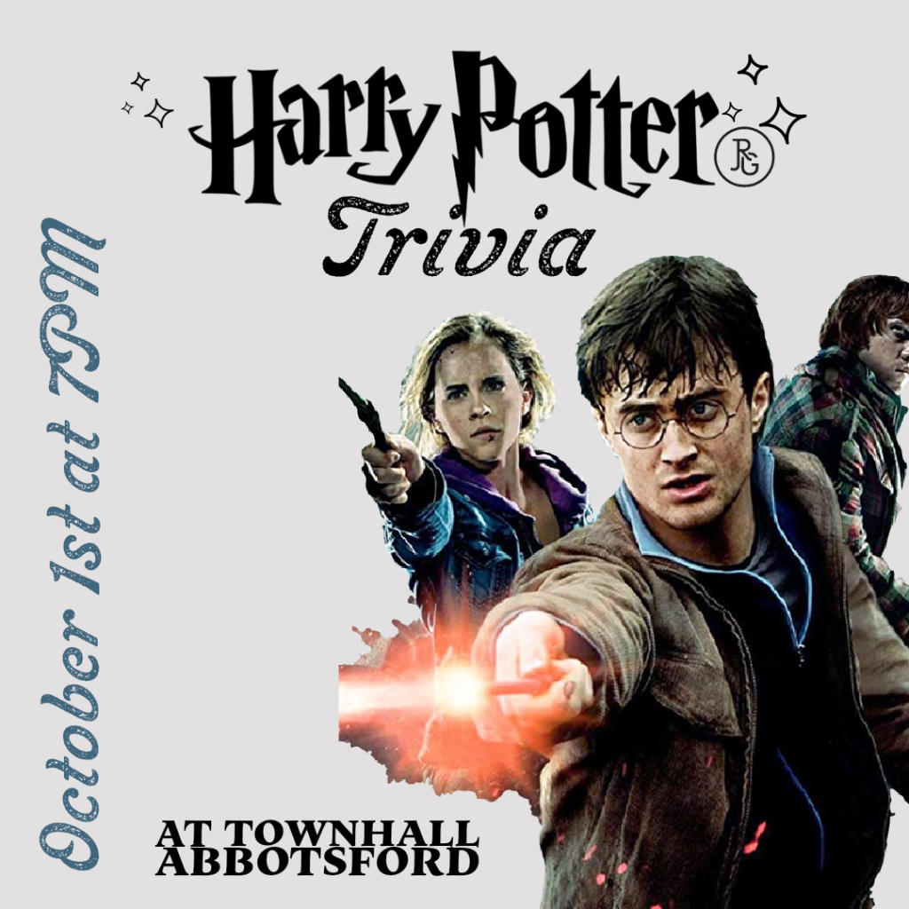 Harry Potter Trivia at Townhall Abbotsford
